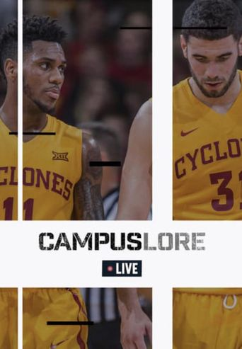CampusLore Live Basketball Poster