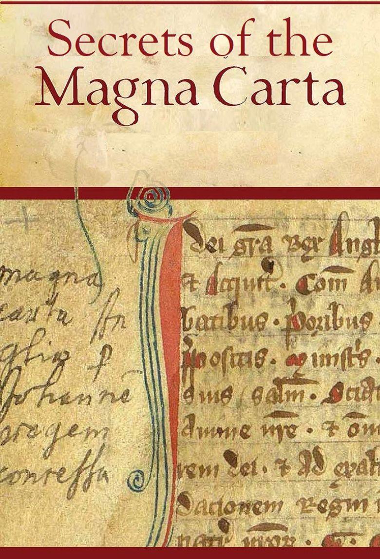 Secrets of the Magna Carta Poster
