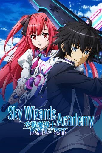Sky Wizards Academy Poster