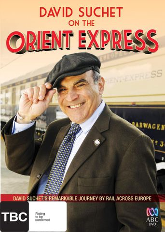 David Suchet on the Orient Express Poster