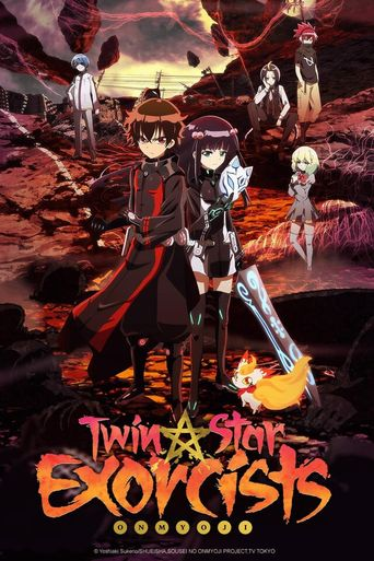 Twin Star Exorcists Poster