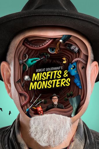 Bobcat Goldthwait's Misfits & Monsters Poster