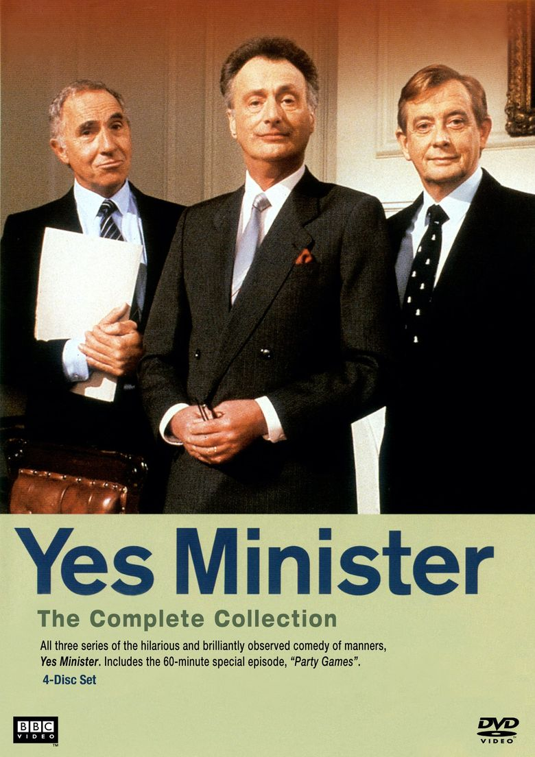 Yes Minister Poster