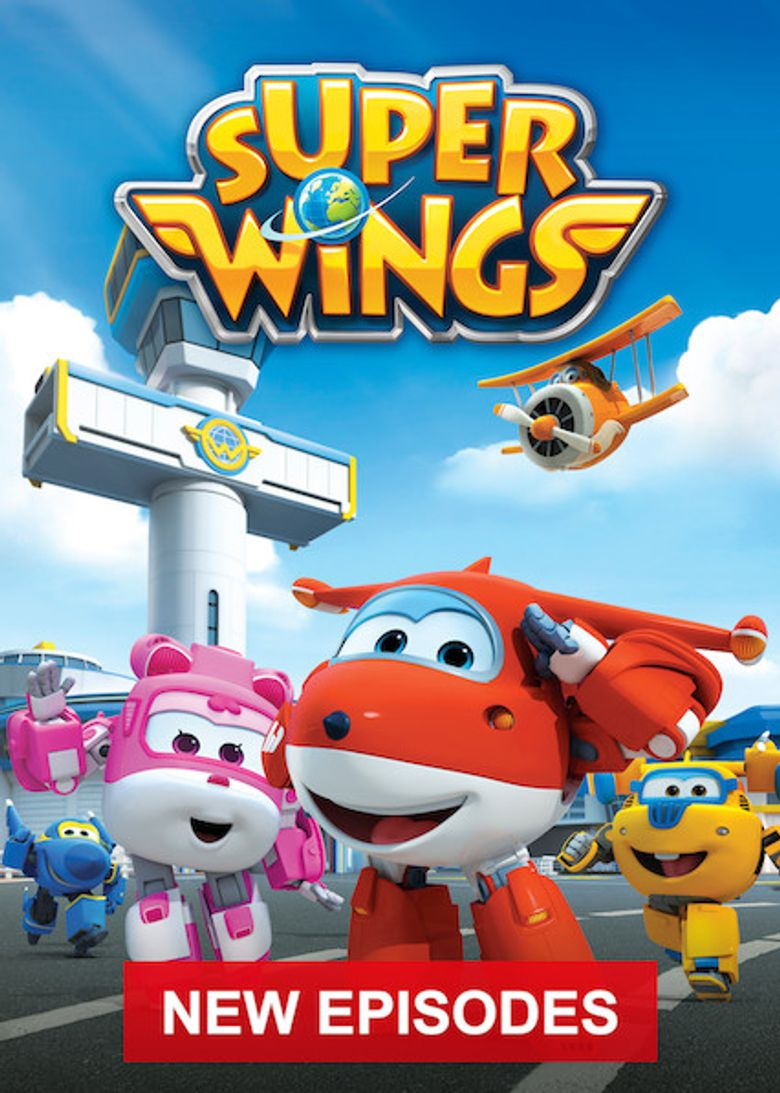 Super Wings! Poster