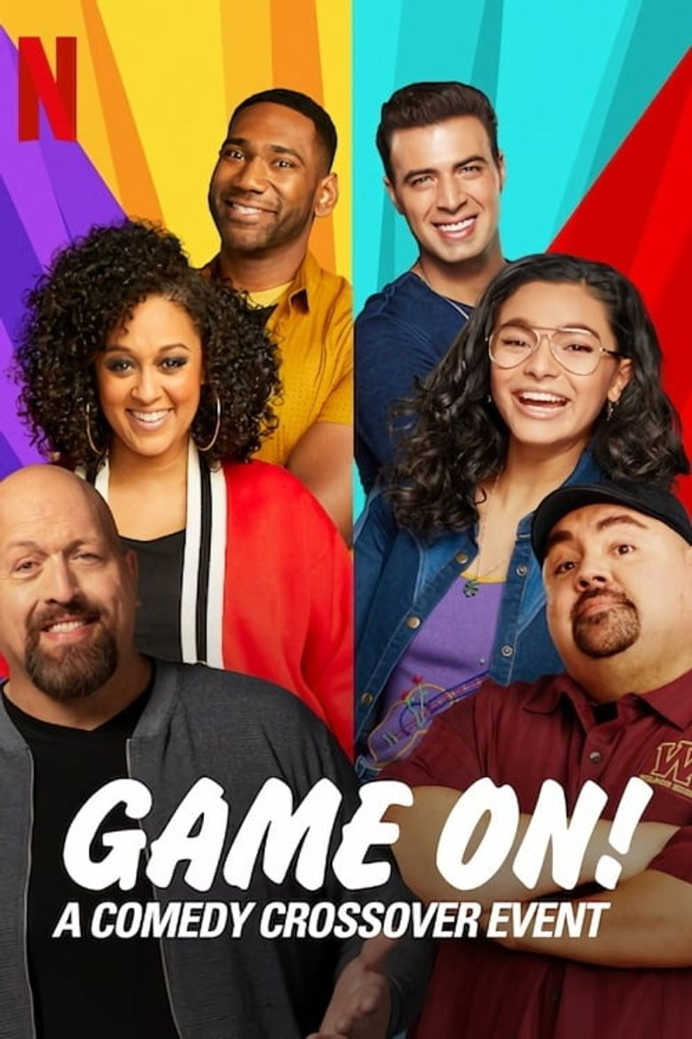 GAME ON: A Comedy Crossover Event Poster