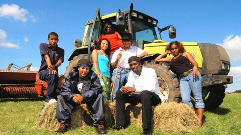 Young Black Farmers Poster