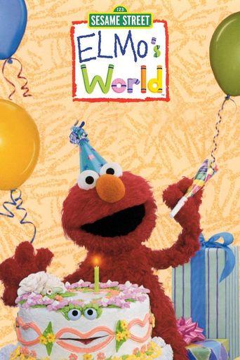 Elmo's World Poster