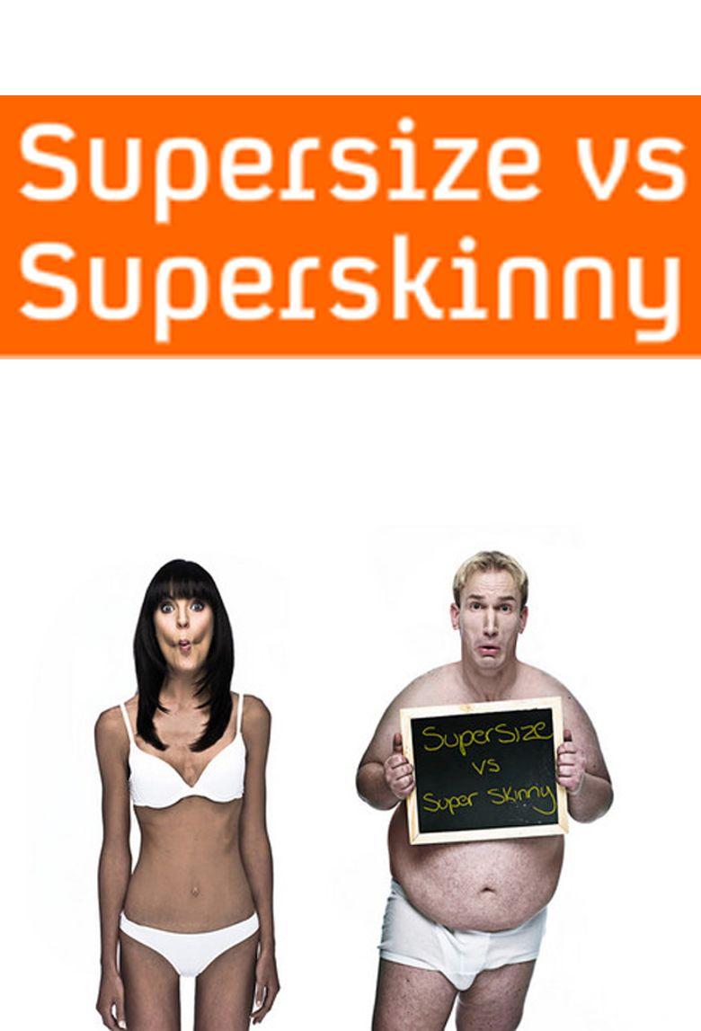 Supersize vs Superskinny Poster