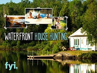 Waterfront House Hunting Poster