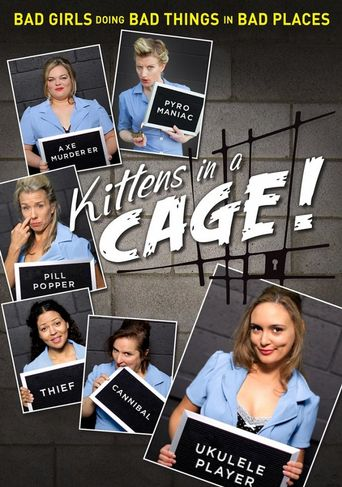 Kittens in a Cage Poster