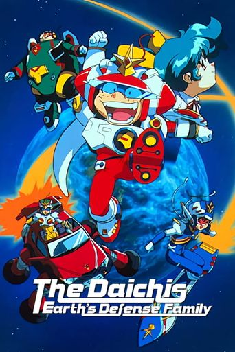 The Daichis Earth's Defense Family Poster