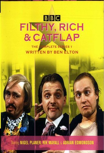 Filthy Rich & Catflap Poster