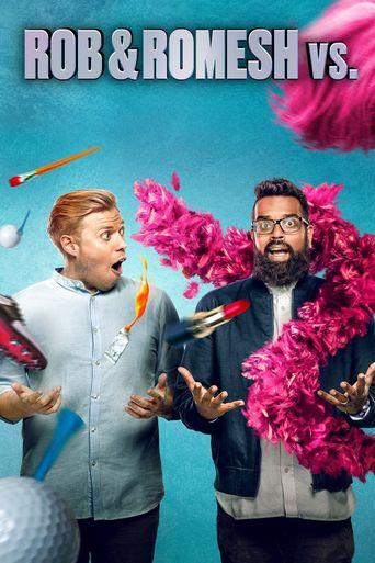 Rob & Romesh Vs Poster
