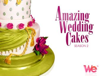 Amazing Wedding Cakes Poster