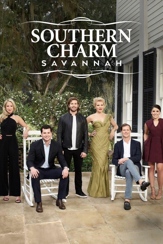 Southern Charm Savannah Poster