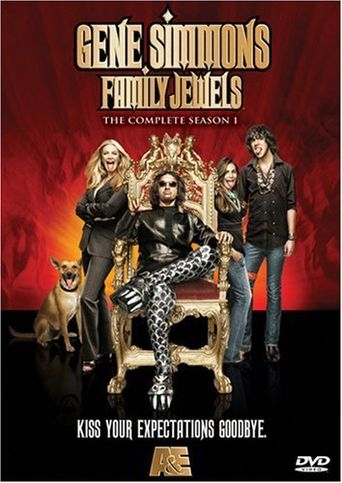 Gene Simmons Family Jewels Poster