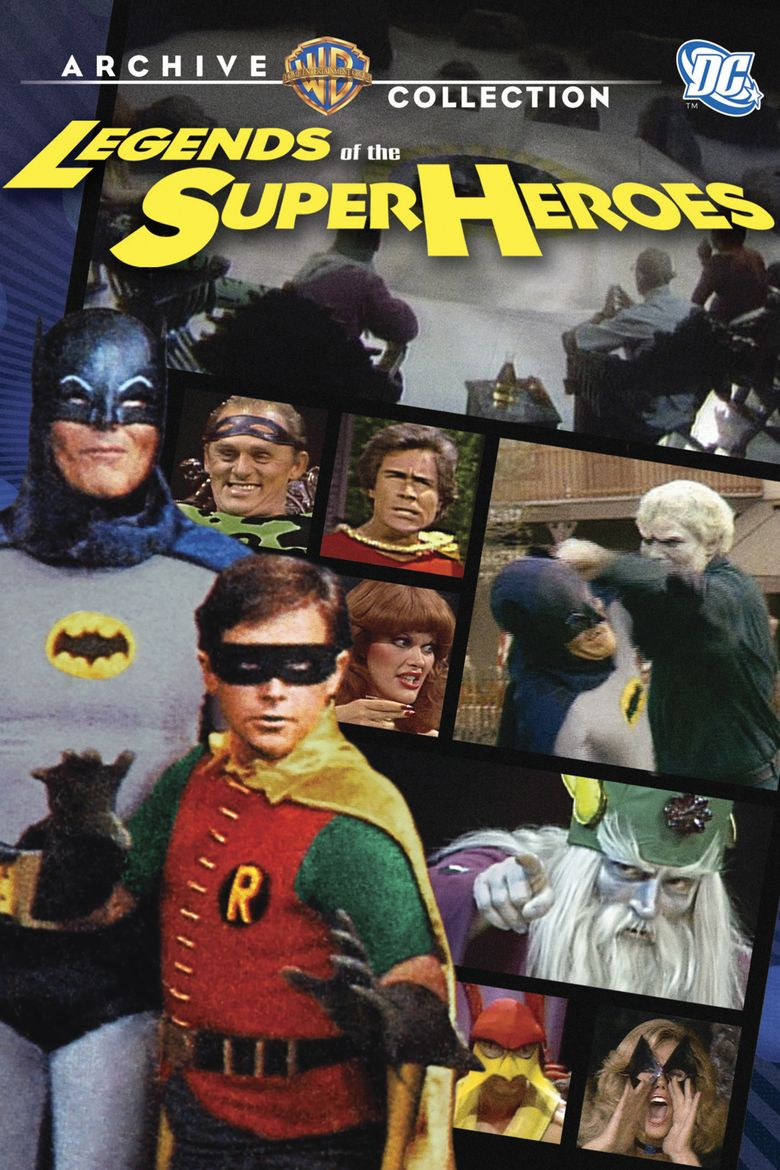 Legends of the Superheroes Poster
