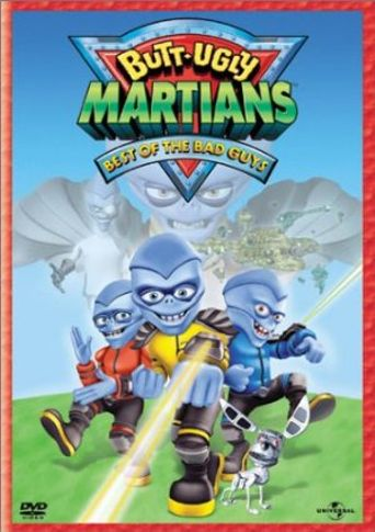 Butt-Ugly Martians Poster