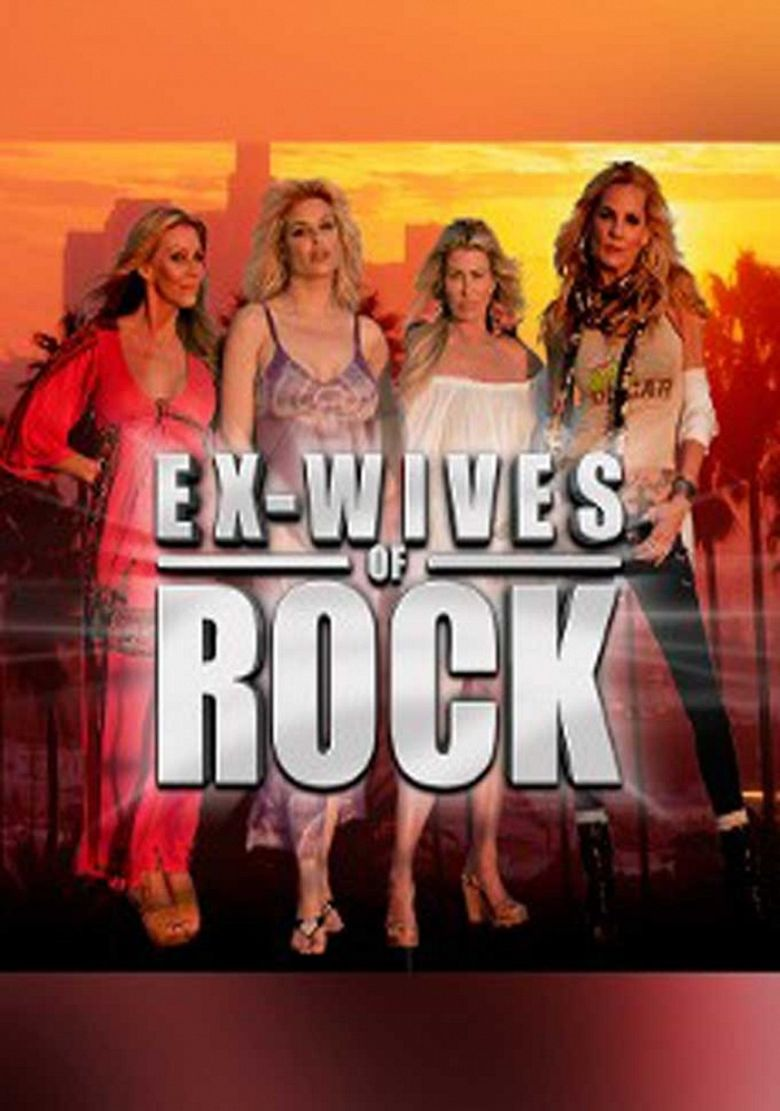 Ex Wives of Rock Poster