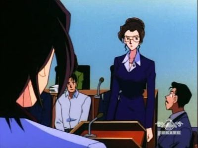 Season 10, Episode 11 The Courtroom Battle: Kisaki vs Kogoro (2)