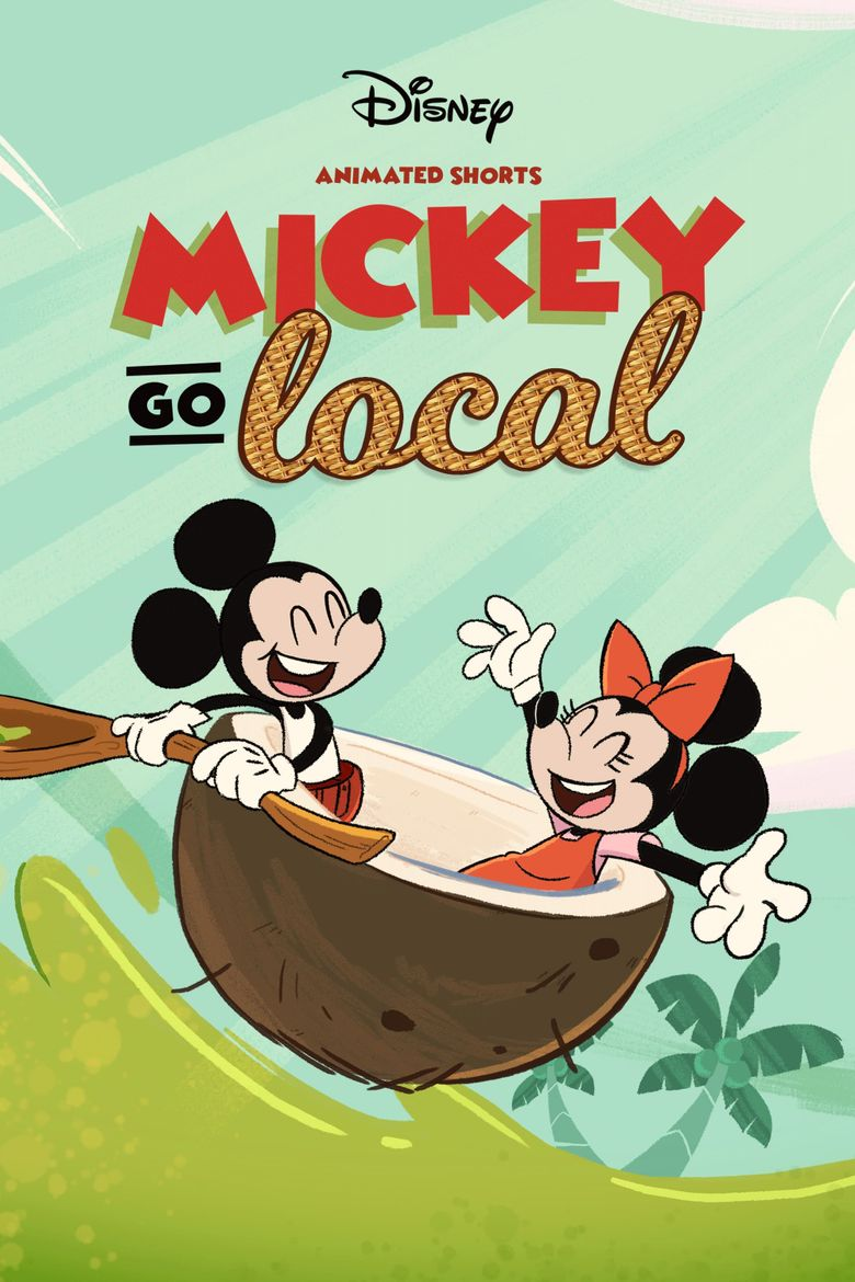 Mickey Go Local Poster