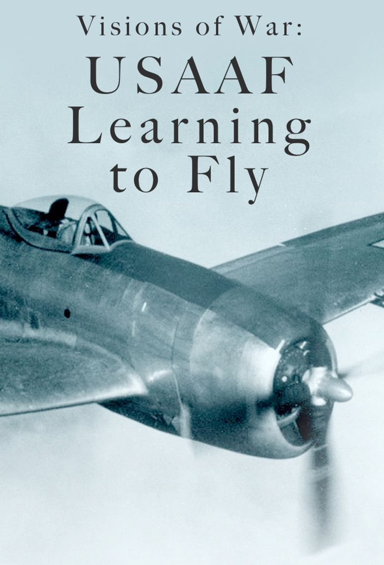 Visions of War: USAAF - Learning to Fly Poster