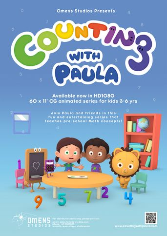 Counting With Paula Poster