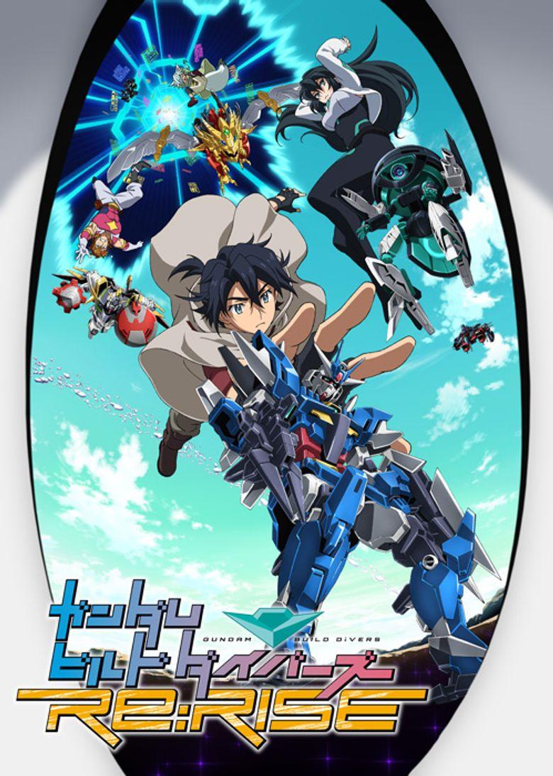Gundam Build Divers Re: Rise Poster