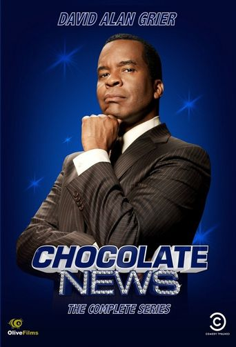 Chocolate News Poster