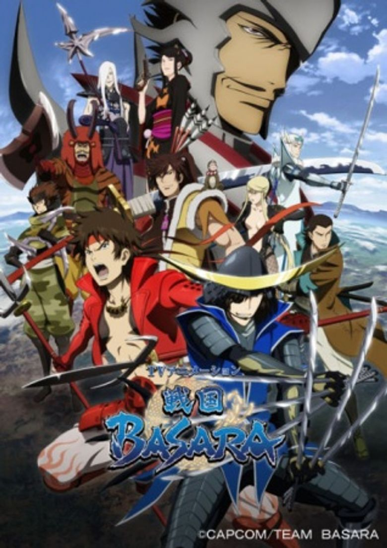 Sengoku Basara: Samurai Kings Poster