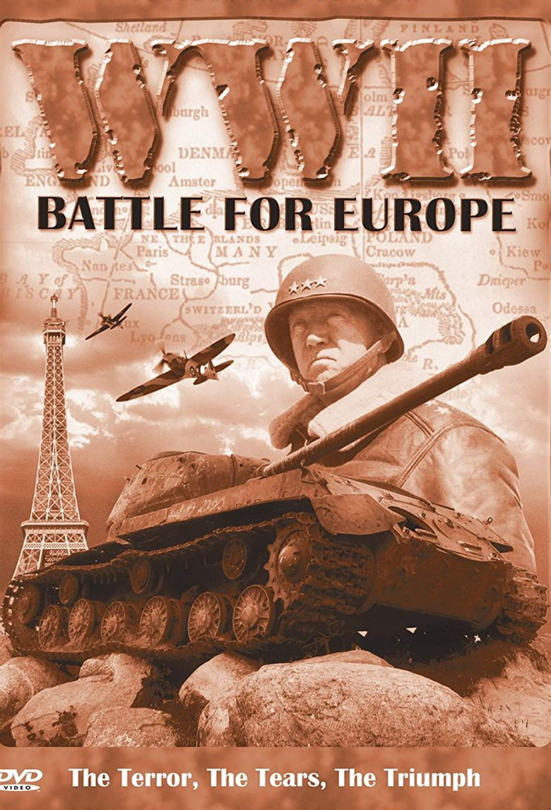 WW2 Battles for Europe Poster