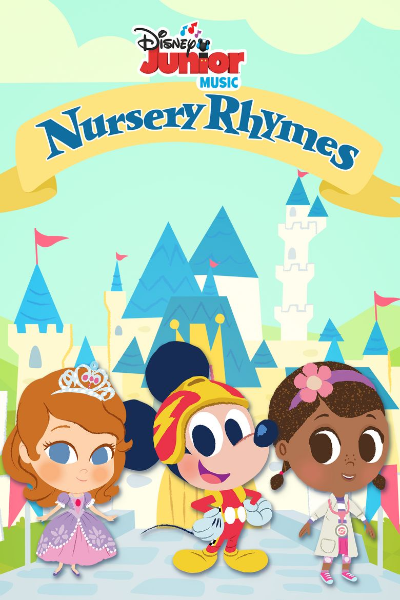 Disney Junior Music Nursery Rhymes Poster
