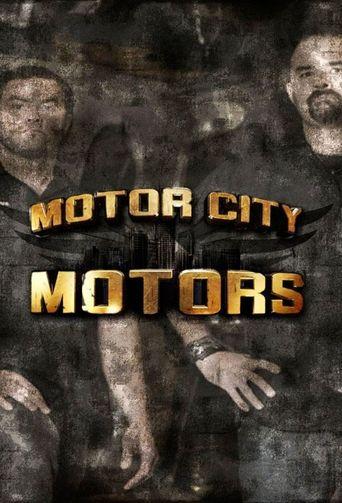 Motor City Motors Poster