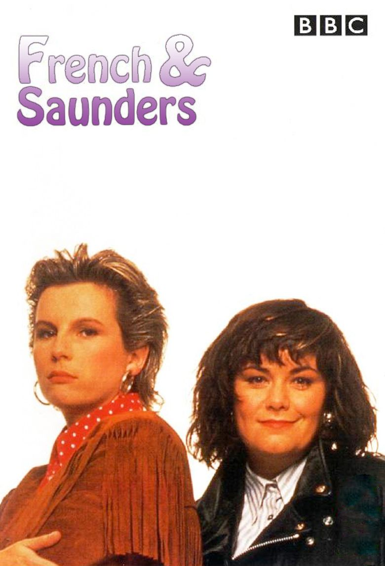 French & Saunders Poster