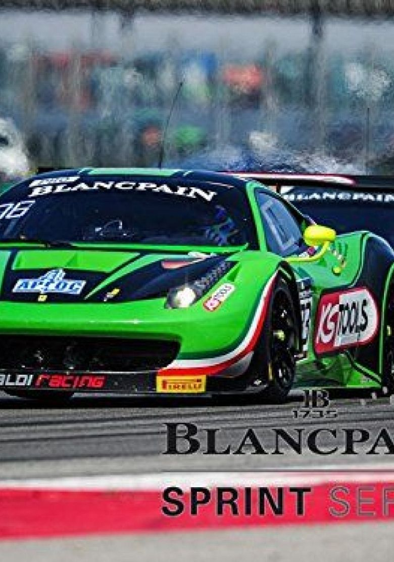 BLANCPAIN SPRINT GT CHAMPIONSHIP Poster