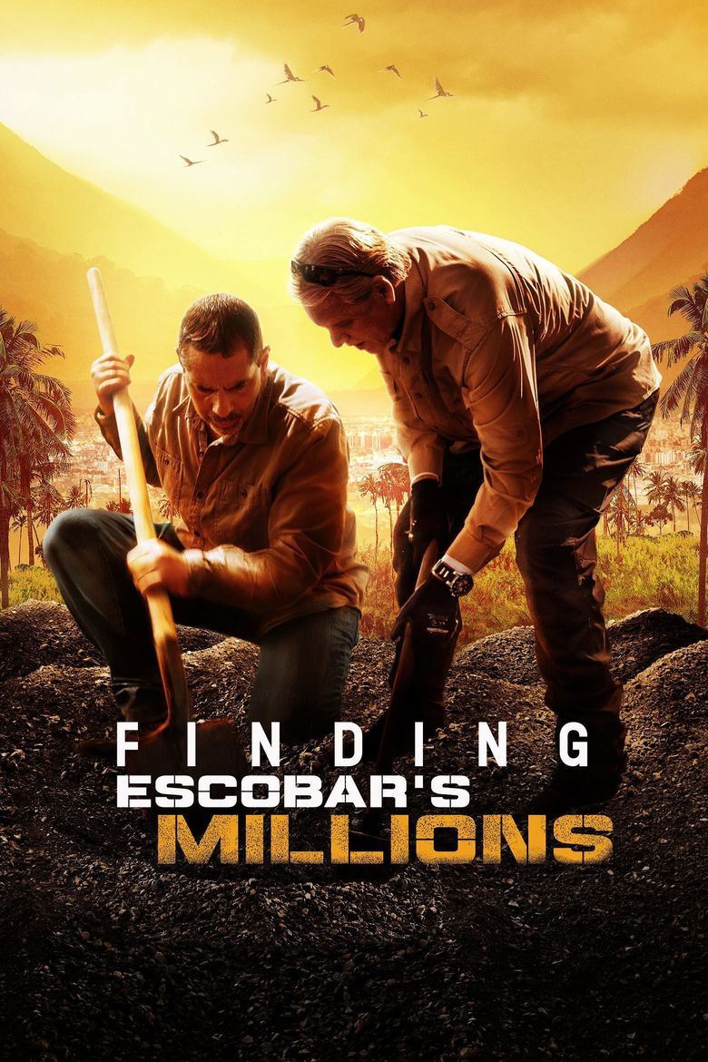 Finding Escobar's Millions Poster