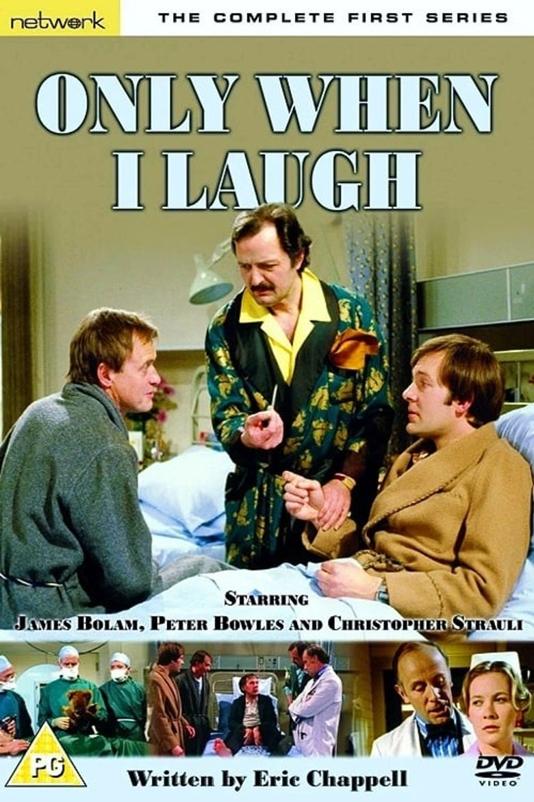 Only When I Laugh Poster
