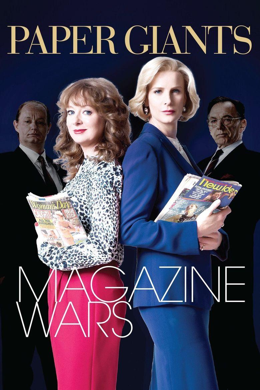 Paper Giants: Magazine Wars Poster