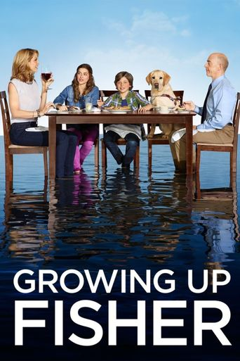Growing Up Fisher Poster