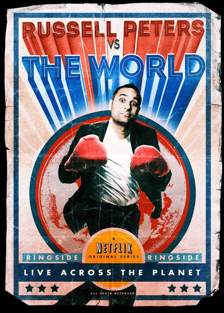 Russell Peters vs. the World Poster