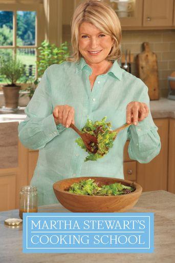 Martha Stewart's Cooking School Poster