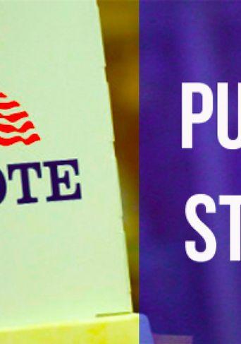 Purple States Poster