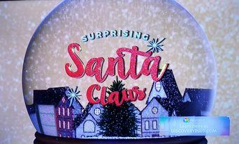 Surprising Santa Claus Poster