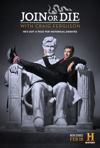 Join or Die with Craig Ferguson Poster