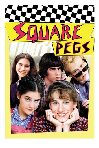 Square Pegs Poster