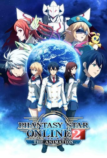 Phantasy Star Online 2: The Animation Poster