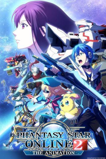 Phantasy Star Online 2: The Animation Poster