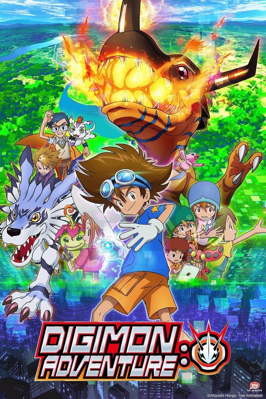 Digimon Adventure: Poster