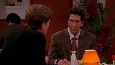 Season 10, Episode 06 The One with Ross's Grant