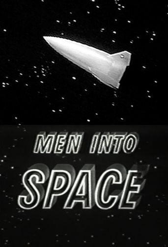 Men into Space Poster
